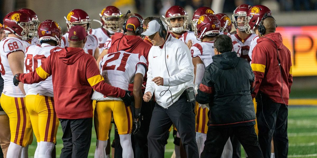 USC to Stick with Coach Clay Helton, Despite Fan Unrest