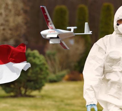 Zipline drones started delivering medical supplies in North Carolina - Appy Pie