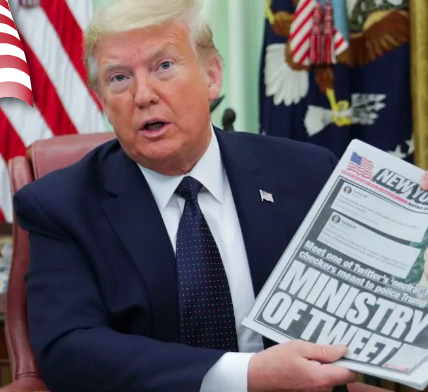 Trump signs executive order aiming at social media companies - Appy Pie