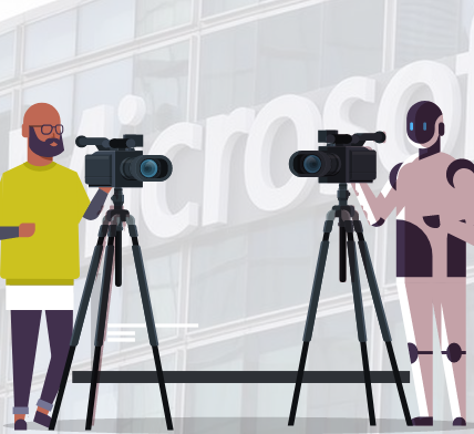 Microsoft to replace its contract news producers with AI Robots - Appy Pie