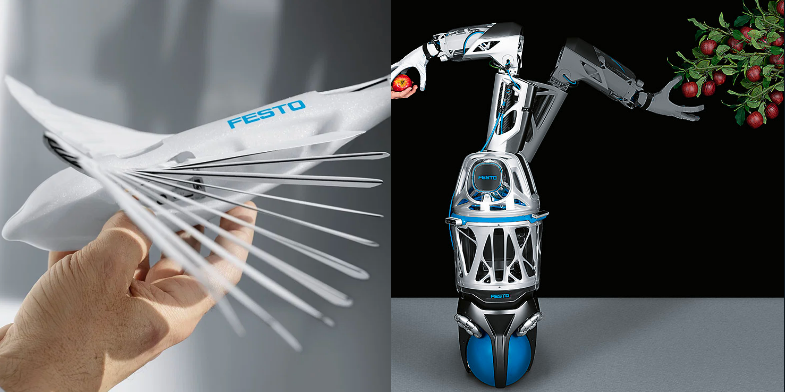 Festo adds a flying swift and ball-bottomed mobile manipulator to its biomimetic robots-Appy Pie