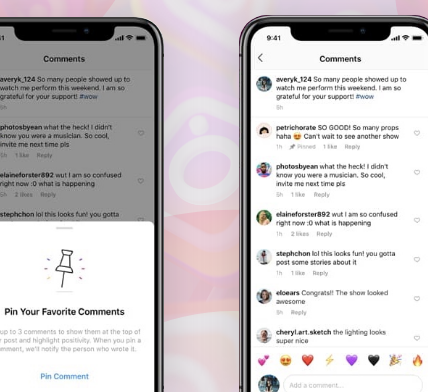 Instagram to roll out pinned comments feature for all users - Appy Pie