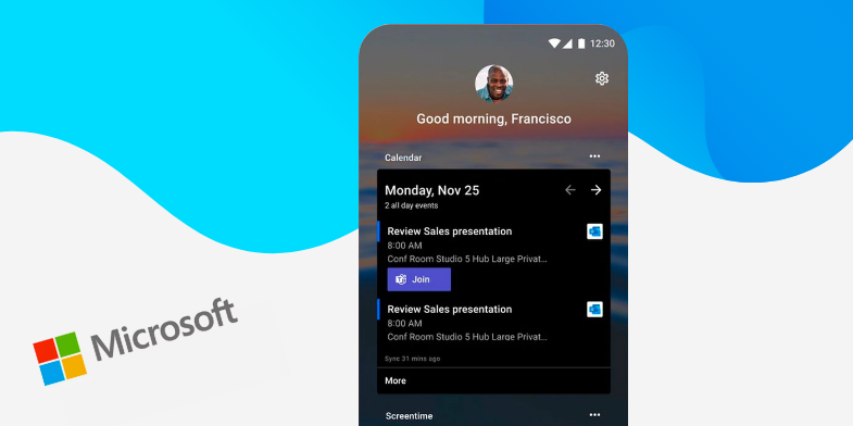 Microsoft updates its Android Launcher app with dark mode - Appy Pie