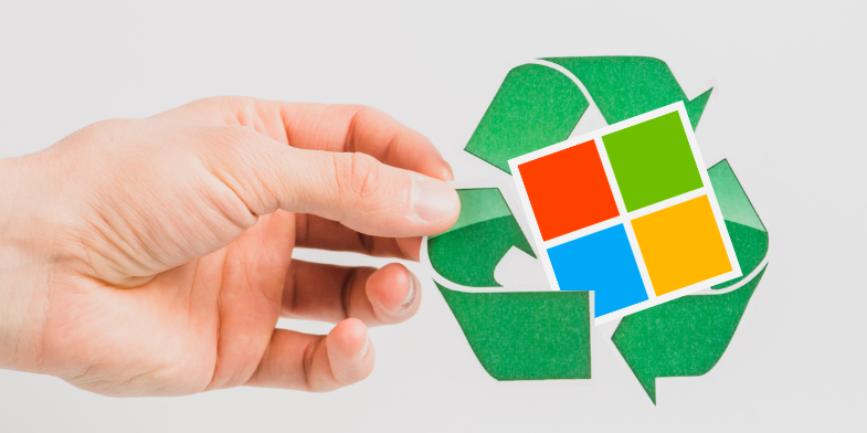Microsoft Aims to be Zero Waste by 2030 - Appy Pie