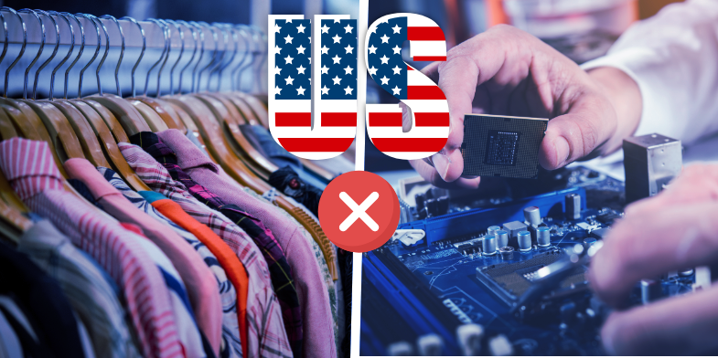 US restricts Chinese apparel - Appy Pie