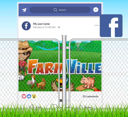 Facebook Farmville - Appy Pie