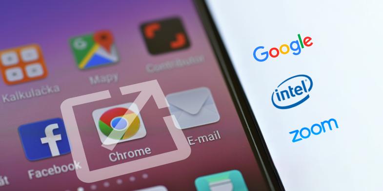 Google, Intel, Zoom - Appy Pie